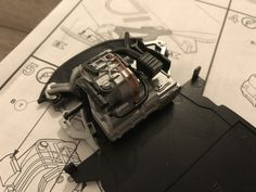 #revell #BMW #i8  Rear engine detail.