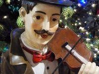 Violinist Christmas Decoration
