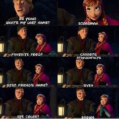 Frozen - hehe I see whatcha did there