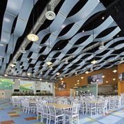 This installation gallery from Armstrong Ceiling Solutions – Commercial showcases applications to help inspire your next project. View the gallery Roof Design, Ceiling Design, Ceiling Tiles, Ceiling Lights, Commercial Office Design, Medical Office Design, Ceiling Treatments, Ceiling Detail, Interior Architecture