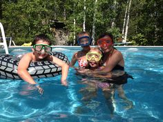 Kids in the pool. Good Ol, Tub, Outdoor Decor, Kids, Bath Tub, Children, Baby Boys, Child, Bathtub