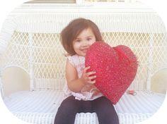 Our funny, little valentine.. www.macdonaldsplayland.blogspot.com