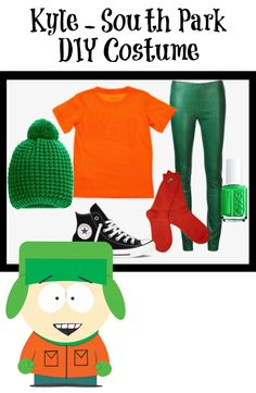 Kyle from South Park DIY Halloween Costume.