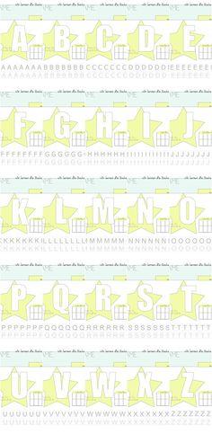 Buchstaben lernen Kindergarten und Vorschule - kostenlose Druckvorlage zum Alphabet schreiben mit Kindern, Buchstaben und Zahlen