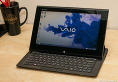 CNET: Sony's convertible tablet is more clunky than cool. The Sony Vaio Duo 11 has a fine set of specs for an ultrabook and an excellent full-HD touch screen on which to take advantage of the Windows 8-style interface. http://www.cnet.com/laptops/sony-vai