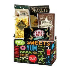 Yummy Snack Box Gift Basket $19.99