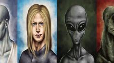 Because I am SO tired of not being able to tell them apart! ALIEN SPECIES A-Z: PART 1