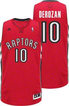 Toronto Raptors DeMar DeRozan 10 Red Swingman Jersey Sale
