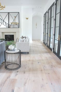 Living Room Progress, Styled for Summer – The House of Silver Lining – Room Mirrors Living Room Interior, Home Living Room, Living Room Designs, Living Room Flooring, Dream Home Design, Home Interior Design, House Design, Design Design, Fashion Room