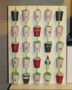 RECREATIONS: 2014 Advent Calendar Idee di Tendenza  #Advent #Calendar #RECREATIONS #Idee Fai da Te #Decorazione Aula #Decorazione 🍢