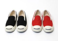 BEAMS × CONVERSE JACK PURCELL SLIP-ON 2COLORS