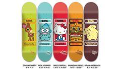 Girl Skateboards x Sanrio