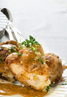 French Chicken with 40 cloves of garlic