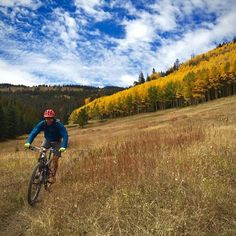 POD: Late season Monarch Crest rider: Josh Coffin. @powdermonk #mtb #colorado