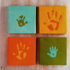 DIY Fathers day kid project idea.