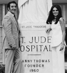 Danny & Marlo Thomas   Danny Thomas founded St Judes Children Research Hospital, which is very dear to my family.