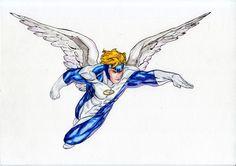 Angel (Watercolor) (Acuarela) José Martín