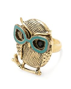 Spec-ulative Species Ring?..the perfect gift for an optician I know and love.