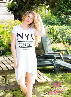 NOVEDAD!!!! nueva coleccion de verano☀️☀️ Vestido asimetrico, con un diseño super fashion y facil de combinar...ideal para look street style