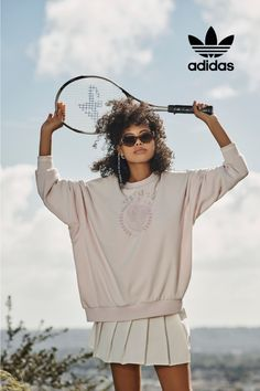Inspired by yesterday built for tomorrow. Explore carefree comfort, available exclusively at adidas. Latest Fashion For Women, Womens Fashion, Athleisure Outfits, Retro Fashion, Adidas Originals, Sportswear, Sweatpants, Hoodies, Inspiration