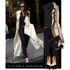 """""""Victoria Beckham"""" by lagyare on Polyvore"""