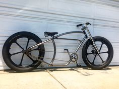 Fat Tire Motorized Bicycle Imperial X K Cycles Custom Hand Made Frame For More Info Or Other Parts Go To
