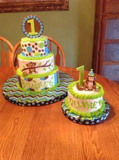 My Grandson's 1st Birthday Cake.