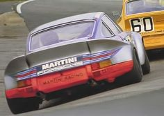 Nurburgring 1973 . Gijs van Lennep / Herbert Müller , Porsche 911 Carrera RSR.