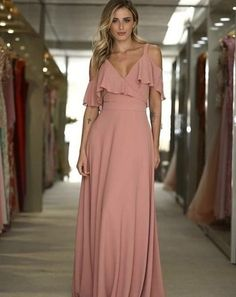styles to try in 2019 045 - 46 Outfits to Try In 2019 Event Dresses, Nice Dresses, Casual Dresses, Formal Dresses, Plus Size Party Dresses, Bridesmaid Dresses, Prom Dresses, Maxi Dress With Sleeves, Women's Fashion Dresses