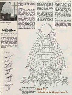 graficos cupulas de abajur em croche - Pesquisa Google