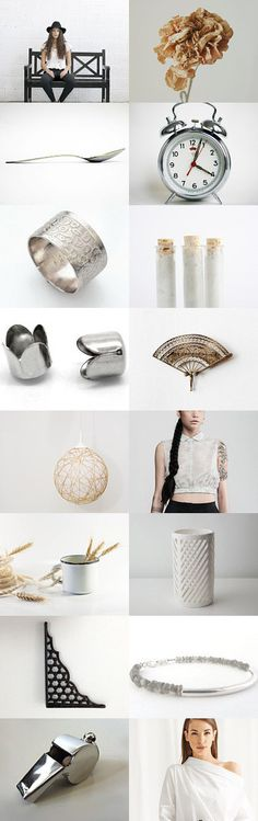 Silver summer by mélanie gibault on Etsy--Pinned with TreasuryPin.com