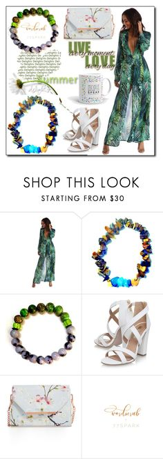 """""""77Spark 15"""" by ruza66-c ❤ liked on Polyvore featuring Miss KG, Ted Baker and 77spark"""