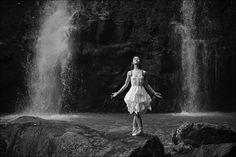 Ballerina Project in Hawaii: #ballerina - @zarstah #hana #maui #hawaii #ballerinaproject #ballerinaproject_ #ballet #dance #waterfall