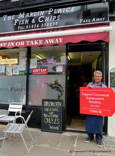 The Marlin Plaice Gravesend Pukka Pies, Order Takeaway, Plaice, Retail, Sleeve, Retail Merchandising