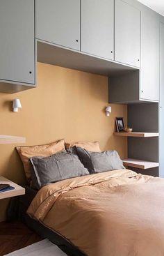 Bedroom Bed Design, Bedroom Furniture Design, Home Bedroom, Modern Bedroom, Bedroom Decor, Bedroom Ideas, Contemporary Bedroom, Small Bedroom Designs, Ikea Bedroom
