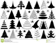 Afbeeldingsresultaat voor afbeeldingen kerstboom tekening