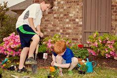 Sprouting an Interest in Gardening