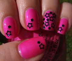 PINK AND BLACK OHHHH YEAH! <3