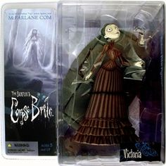"Rare 2005 Mcfarlane 6"" VICTORIA Corpse Bride Figure Series 1 Tim Burton Movie 