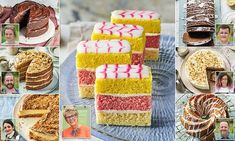 Celebrate 10 years of Bake Off with recipes from judge Prue Leith — Daily Mail British Baking Show Recipes, British Bake Off Recipes, Great British Bake Off, Just Desserts, Delicious Desserts, Yummy Food, Bakery Recipes, Dessert Recipes, Prue Leith