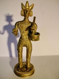 Figur ein Prinz Indianer Inka, Atzteke Adelsbesitz