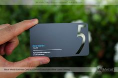 If you're a businesswoman who's looking to make an impact, our custom Metal Business Cards are a great way to confidently and successfully market yourself. Metal Business Cards, Black Business Card, Business Card Dimensions, Balloon Logo, Black Card, 5 W, Custom Metal, World Leaders, Card Tags