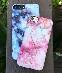 Pink or Blue? Geode & Pink Lava Case for iPhone 7 & iPhone 7 Plus from Elemental Cases