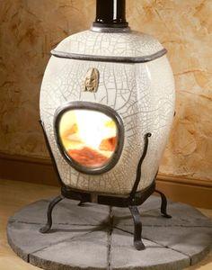 Designer Keramik Kamin in verschiedenen Raku-Ausführungen-nach Kundenwunsch hergestellt
