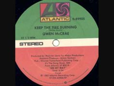 Gwen McCrae - Keep The Fire Burning - YouTube