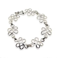 925 Unique Sterling Silver Celtic Link Wrap Bracelet, Jewelry For Women, 8' Length; Irish ** To view further for this item, visit the image link. (This is an affiliate link) #WomensJewelry