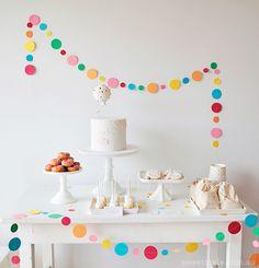 Sprinkles + confetti baby shower