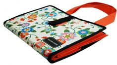 the Tote Buddy_ folder like board that holds reusable shopping bags