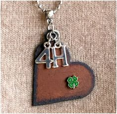 4-H Necklace by Whippoorwill Valley