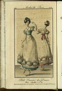 Petit Courrier des Dames : annonces des modes, des nouveautés et des arts del 28 de Febrero de 1822